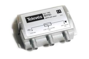 zwrotnica TV - SAT televes745200 - 00