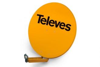 Antena satelitarna aluminiowa Televes HQ QSD